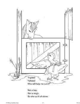 """""""The Little Red Hen"""": A Retelling"""