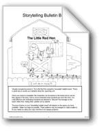 'The Little Red Hen': Storytelling Bulletin Board