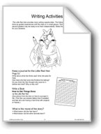 'The Little Red Hen': Writing Activities