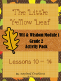"""""""The Little Yellow Leaf"""" Activity Packet (Wit & Wisdom Gra"""