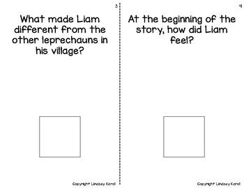 """The Littlest Leprechaun"" Companion Book: A Story Retelling Guide"