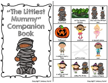 """The Littlest Mummy"" Companion Book: A Story Retelling Guide"