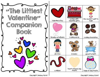 """The Littlest Valentine"" Companion Book: A Story Retelling Guide"