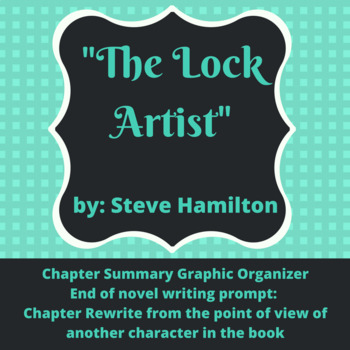 """""""The Lock Artist"""" Graphic Organizer and Writing Prompt"""