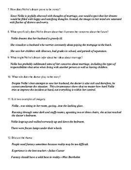 "Anton Chekhov: ""The Looking Glass"" Worksheet (or Test) and Detailed Answer Key"