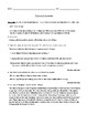 """The Lottery"" Assessment or Review Worksheet with Detailed Answer Key"