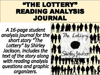 https://www.teacherspayteachers.com/Product/The-Lottery-Short-Story-Reading-Analysis-Journal-4881596