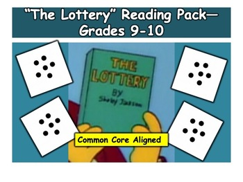 """""""The Lottery""""—Reading Pack—Grades 9 and 10"""