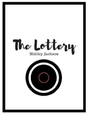 """""""The Lottery"""" Short Story Activities"""