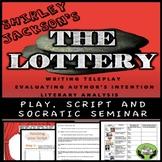 THE LOTTERY | SHIRLEY JACKSON | PLAY & SOCRATIC SEMINAR