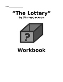 """""""The Lottery"""" by Shirley Jackson Literary Element Workbook"""