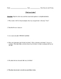 """The Love Letter"" Worksheet or Assessment with Detailed Answer Key"