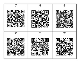 """The Man Who Walked Between the Towers"" QR Codes"