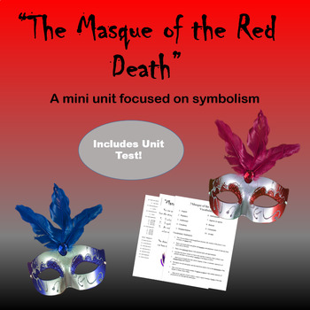 Masque Of The Red Death Test Teaching Resources Teachers Pay Teachers