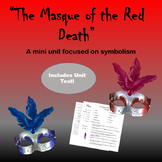 """""""The Masque of the Red Death"""" Mini Unit"""