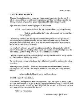 """""""The Mayor of Munchkinland"""" [A Short Story]"""