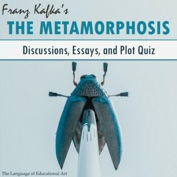 Metamorphosis Kafka Assessment Worksheets Teachers Pay