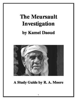 """The Meursault Investigation"" by Kamel Daoud: A Study Guide"