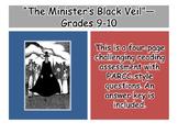 """""""The Minister's Black Veil"""" Reading Assessment—Grades 9-10"""