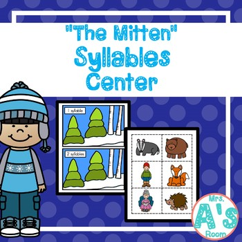 """""""The Mitten"""" Syllables Game"""