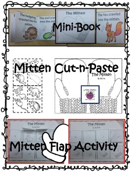 """The Mitten"" by Jan Brett Literacy Companion FUN Activities for Primary Grades!"