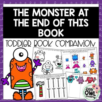 """""""The Monster at the end of this Book"""" Toddler Curriculum"""