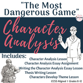 the most dangerous game thesis