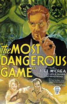 """The Most Dangerous Game"" Reading Quiz"