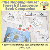 """""""The Napping House"""" Speech and Language Book Companion"""