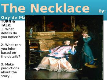 """The Necklace"" PowerPoint"