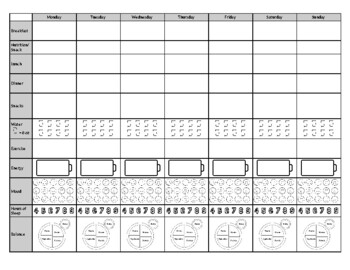 Comprehensive Food Tracker