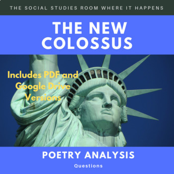 The New Colossus Poetry Analysis