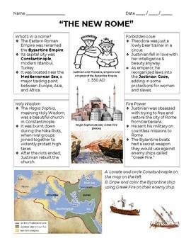 JUSTINIAN, THEODORA, and the BYZANTINE EMPIRE