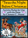 Christmas Reading Activities: The Night Before Christmas Language Arts Activity