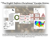 """""""The Night Before Christmas"""" Escape Room"""