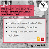 """""""The Night the Bed Fell"""" by James Thurber {Digital & PDF}"""