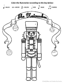 Nutcracker Coloring Page - Free Christmas Recipes, Coloring Pages ... | 350x270