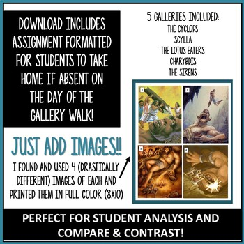 """The Odyssey"" Monster Gallery Walk + Image Analysis"