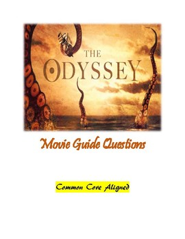 """""""The Odyssey"""" movie guide questions"""