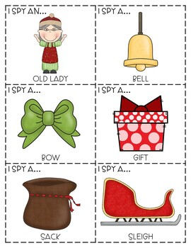 """""""I Spy"""" Descriptive Language Game - """"The Old Lady Who Swallowed A Bell"""""""