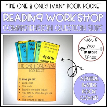 """The One & Only Ivan"" Book Pocket & Comprehension Discussion Questions"