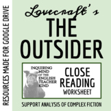 """The Outsider"" by H.P. Lovecraft - Guided Reading (Text Included)"