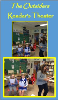 """""""The Outsiders"""" Chapter 3; Reader's Theater with Exit Activity PRINTABLE"""