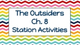 """The Outsiders"" Chapter 8 Station Lessons"