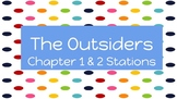 """The Outsiders"" Chapters 1 & 2 Station Activities"