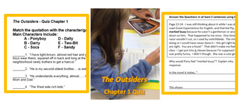 """""""The Outsiders"""" MEGA BUNDLE - buy here and save 20%"""