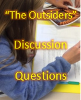 """The Outsiders"" - PowerPoint - What Make You, YOU? - Chapters 1-4"