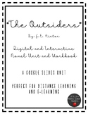 """""""The Outsiders"""" by S.E. Hinton Digital/Distance Learning N"""