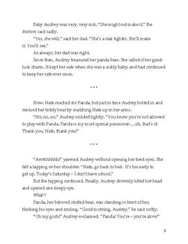 """The Panda"" Literary Analysis & Narrative Writing Activity"