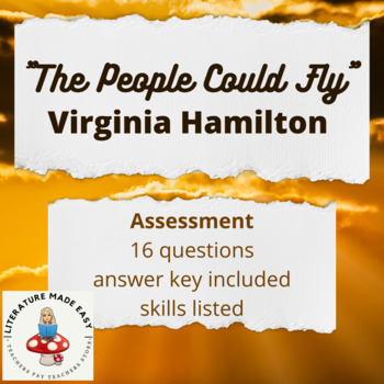 """The People Could Fly"" by Virginia Hamilton Assessment ..."